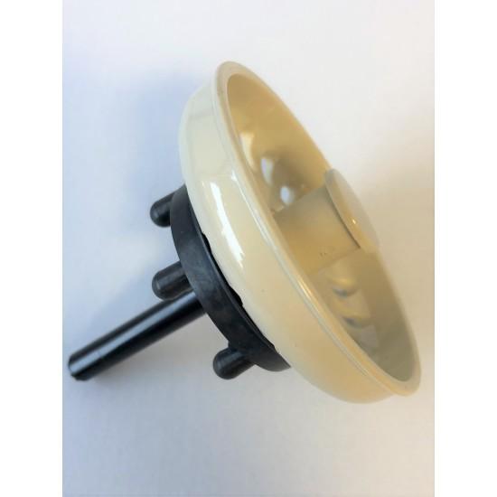 Basket Strainer Plug ONLY  - Beige ** FOR SINKS BEFORE 2000**